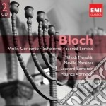 GEMINI: BLOCH: ORCHESTRAL & CHORAL        cd musicale di Yehudi Menuhin