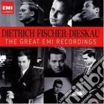 Fischer-dieskau: the great emi recording cd musicale di FISCHER DIETRICH DIESKAU