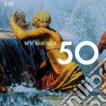 50 BEST BAROQUE                           cd musicale di Artisti Vari