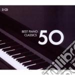 50 BEST PIANO                             cd musicale di Artisti Vari