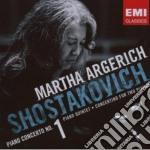 Shostakovich Dimitri - Argerich Martha - Concerto Per Piano N.1 cd musicale di Martha Argerich