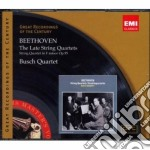 GROC SERIES: BEETHOVEN THE LATE STRING Q  cd musicale di BUSCH CHAMBER PLAYER