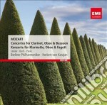 Mozart Wolfgang Amadeus - Karajan Herbert Von - Red Line: Mozart Concerti Per Clarinetto, Oboe & F cd musicale di Karajan herbert von