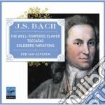 Bach clavicembalo ben temperato - variaz cd musicale di Asperen bob van