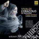 Vivaldi: l'oracolo in messenia cd musicale di Fabio Biondi