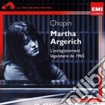 Martha Argerich - Chopin Recital 1965 cd musicale di Martha Argerich