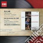Emi masters: elgar cello concerto, sea p cd musicale di Du pr� jacqueline