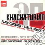 PIANO CONCERTO- VIOLIN CONCERTO           cd musicale di Artisti Vari