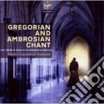 VIRGIN: GREGORIAN CHANTS                  cd musicale di SCHOLA CANTORUM COLO