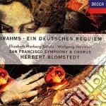Requiem tedesco (ein deutsches requiem) cd musicale di Paavo Jarvi