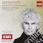Emi masters: beethoven symphonies 5&6 cd musicale di Simon Rattle