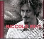 Essential cd musicale di Niccolo Fabi