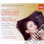 New opera series pagliacci & cavalleria cd musicale di Tullio Serafin