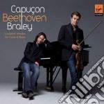 Beethoven complete sonatas renaud capuco cd musicale di Renaud Capucon