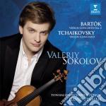 Tchaikovsky / Bartok - Violin Concertos cd musicale di Valery Sokolov