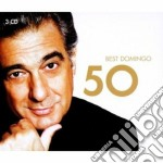 50 best placido domingo cd musicale di DOMINGO PLACIDO