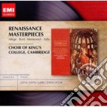 Emi masters: renaissance masterpieces cd musicale di King's college choir
