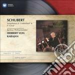 Emi masters: schubert sinfonie 8 & 9 cd musicale di Karajan herbert von