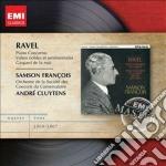 Ravel Maurice - Francois Samson - Masters: Ravel Concerti Per Piano Etc cd musicale di Samson Francois
