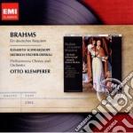 Brahms - Klemperer Otto - Masters: Brahms Ein Deutsches Requiem cd musicale di Otto Klemperer