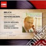 Emi masters: bruch/mendelssohn concerti cd musicale di Yehudi Menuhin