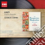 Liszt Franz - Cziffra Gyorgi - Masters: Liszt 7 Rapsodie Ungheresi cd musicale di Gyorgi Cziffra