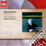 Beethoven - Rattle Simon - Masters: Beethoven Sinfonie 5 & 6 `pastorale` cd musicale di Simon Rattle