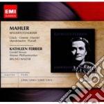 Mahler Gustav - Ferrier Kathlenn - Masters: Mahler Kindertotenlieder cd musicale di Kathlenn Ferrier