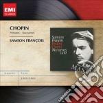 Emi masters: chopin nocturnes & preludes cd musicale di Samson Francois