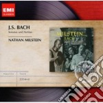 Emi masters: bach sonate & partite cd musicale di Nathan Milstein