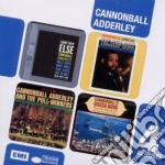 4cd boxset (limited): cannonball adderle cd musicale di Adderley julian