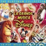 La grande musica disney the platinum cd musicale di Artisti Vari