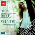 Prokofiev Sergej - Frang Vilde - Prokofiev & Sibelius: Vilde Frang cd musicale di Vilde Frang