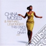 China Moses / Raphael Lemonnier - This One's For Dinah cd musicale di China Moses
