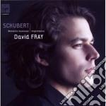 Schubert Franz - Fray David - David Fray: Schubert cd musicale di David Fray