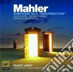 Mahler symphony no.2 cd musicale di Paavo Jarvi