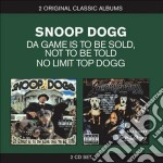 Snoop Dogg - The Game Is To Be Sold, Not To Be Told / Top Dogg cd musicale di Snoop doggy dogg