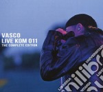 Live KOM 011: the Complete Edition (2CD+DVD) cd musicale di Vasco Rossi