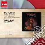 Schubert Franz - Alban Berg Quartett - Masters: Schubert String Quartets No.14&no.13 cd musicale di Alban berg quartett