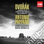 Dvorak: sinfonia n.9; concerto per violo cd musicale di Antonio Pappano