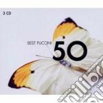 50 best puccini cd musicale di Artisti Vari