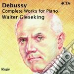 Debussy - Gieseking Walter - Signature: Debussy Composizioni Per Piano Ltd Sac (4cd) cd musicale di Walter Gieseking
