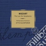 Mozart Wolfgang Amadeus - Klemperer Otto - Signature: Mozart Ultime Sinfonie (SACD) (3 Cd) cd musicale di Otto Klemperer