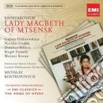 NEW OPERA SERIES: SHOSTAKOVICH LADY MACB  cd musicale di Mstisla Rostropovich
