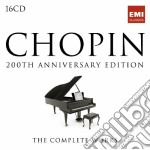 Chopin: the complete edition cd musicale di Artisti Vari