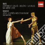 BALLET EDITION: DEBUSSY/RAVEL: THE BALLE  cd musicale di Jean Martinon