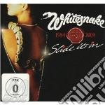 Slide in it - cd+dvd - 25th anniversary cd musicale di Whitesnake