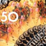 50 best operettas cd musicale di Artisti Vari