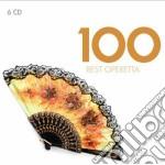 Vari Autori - Vari Esecutori - 100 Best Operettas (6cd) cd musicale di Artisti Vari