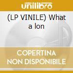 (LP VINILE) What a lon lp vinile
